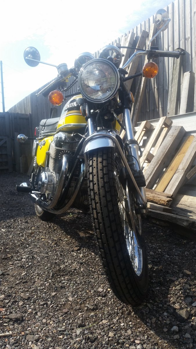 1975 CB750 K6 Sulfur Yellow For Sale (picture 2 of 6)