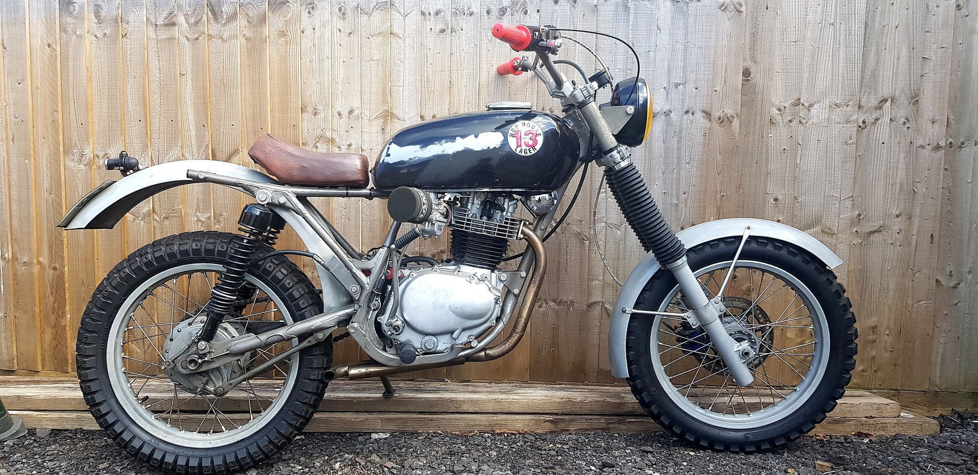 1977 XL250 Rat Rod with Motosport engine For Sale (picture 2 of 6)