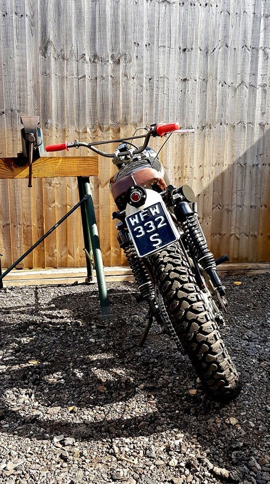 1977 XL250 Rat Rod with Motosport engine For Sale (picture 4 of 6)