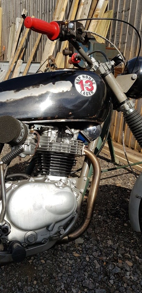 1977 XL250 Rat Rod with Motosport engine For Sale (picture 5 of 6)