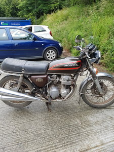 1979 Honda super bike  barn find