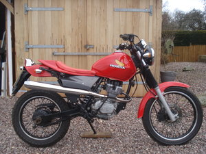 2001 Honda CLR 125 city fly