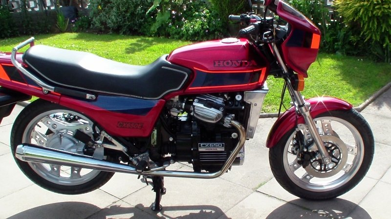 1984 Honda cx650 eurosport fully rebuilt For Sale (picture 1 of 6)