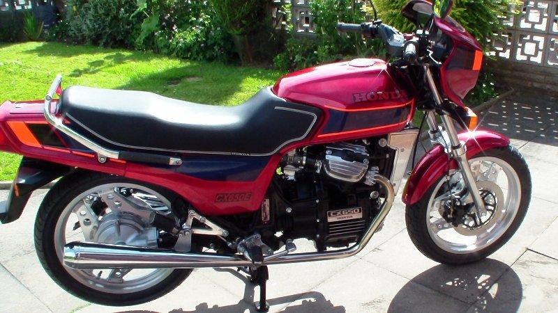 1984 Honda cx650 eurosport fully rebuilt For Sale (picture 4 of 6)