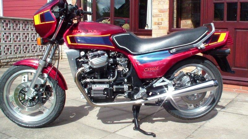 1984 Honda cx650 eurosport fully rebuilt For Sale (picture 6 of 6)