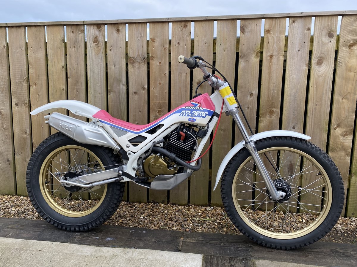 1988 HONDA RTL 250 TRIALS VERY RARE BIKE BEST EVER! £5995 OFFERS  For Sale (picture 1 of 5)