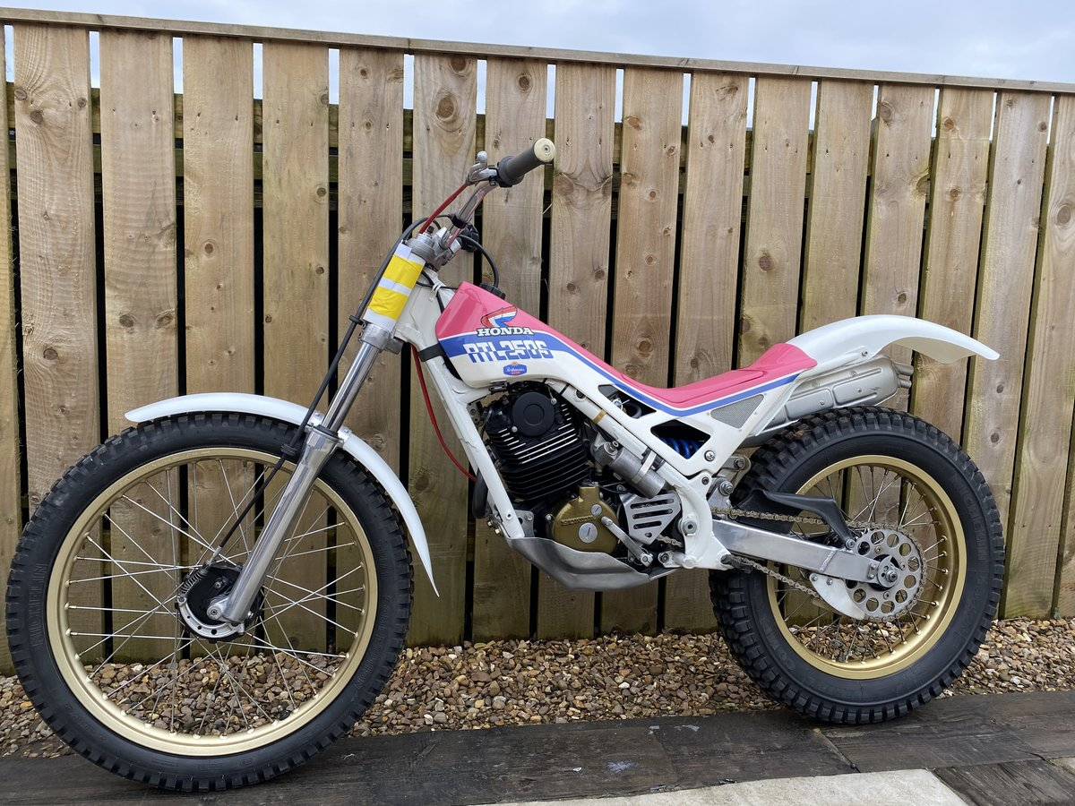 1988 HONDA RTL 250 TRIALS VERY RARE BIKE BEST EVER! £5995 OFFERS  For Sale (picture 3 of 5)