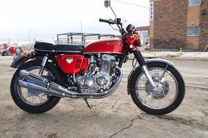 Early 1969 Honda CB750 Sandcast