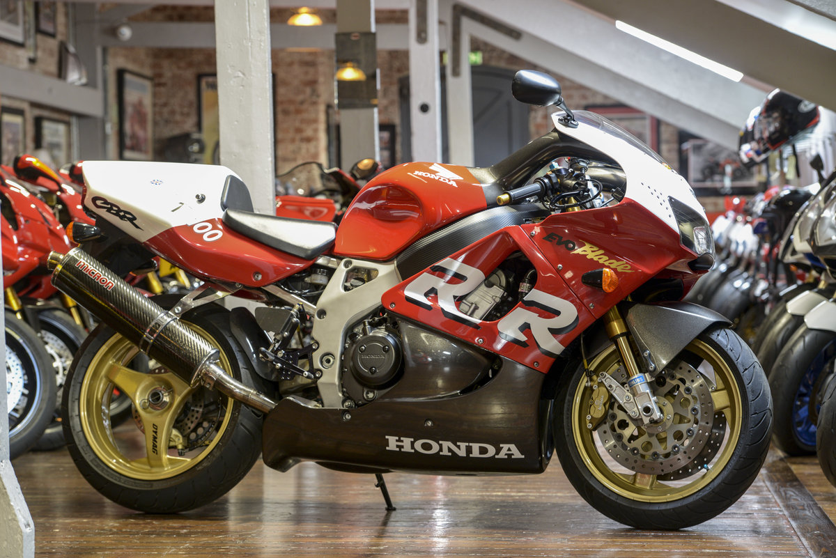 1999 Honda CBR900RR Russell Savoury built TT100 Evo-Blade. NO: 19 For Sale (picture 1 of 6)