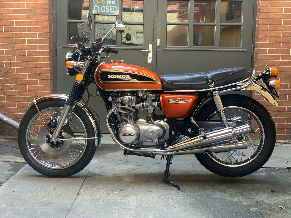 1977 Honda CB500 Four K2 SOLD (picture 1 of 6)