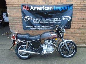 1980 HONDA CX500 DELUXE SPORTS MOTORBIKE SOLD