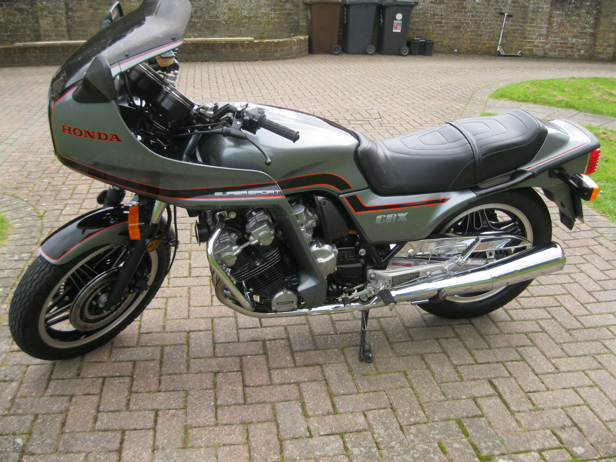 1981 Honda CBX 1000 Pro-link Low mileage UK bike For Sale (picture 5 of 6)