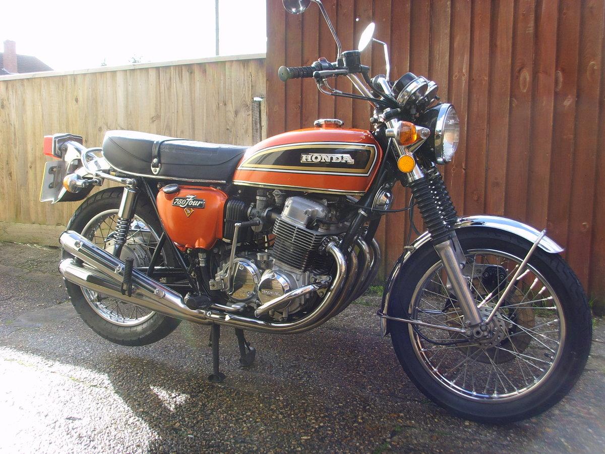 Honda CB750k4 1974 Beautiful original condition Classic bike For Sale (picture 1 of 6)