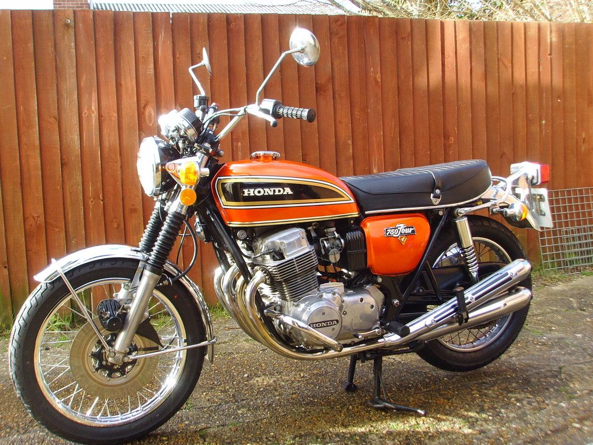 Honda CB750k4 1974 Beautiful original condition Classic bike For Sale (picture 2 of 6)