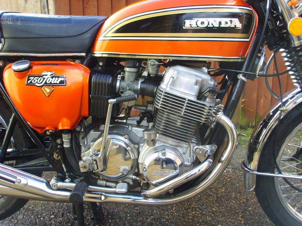 Honda CB750k4 1974 Beautiful original condition Classic bike For Sale (picture 3 of 6)