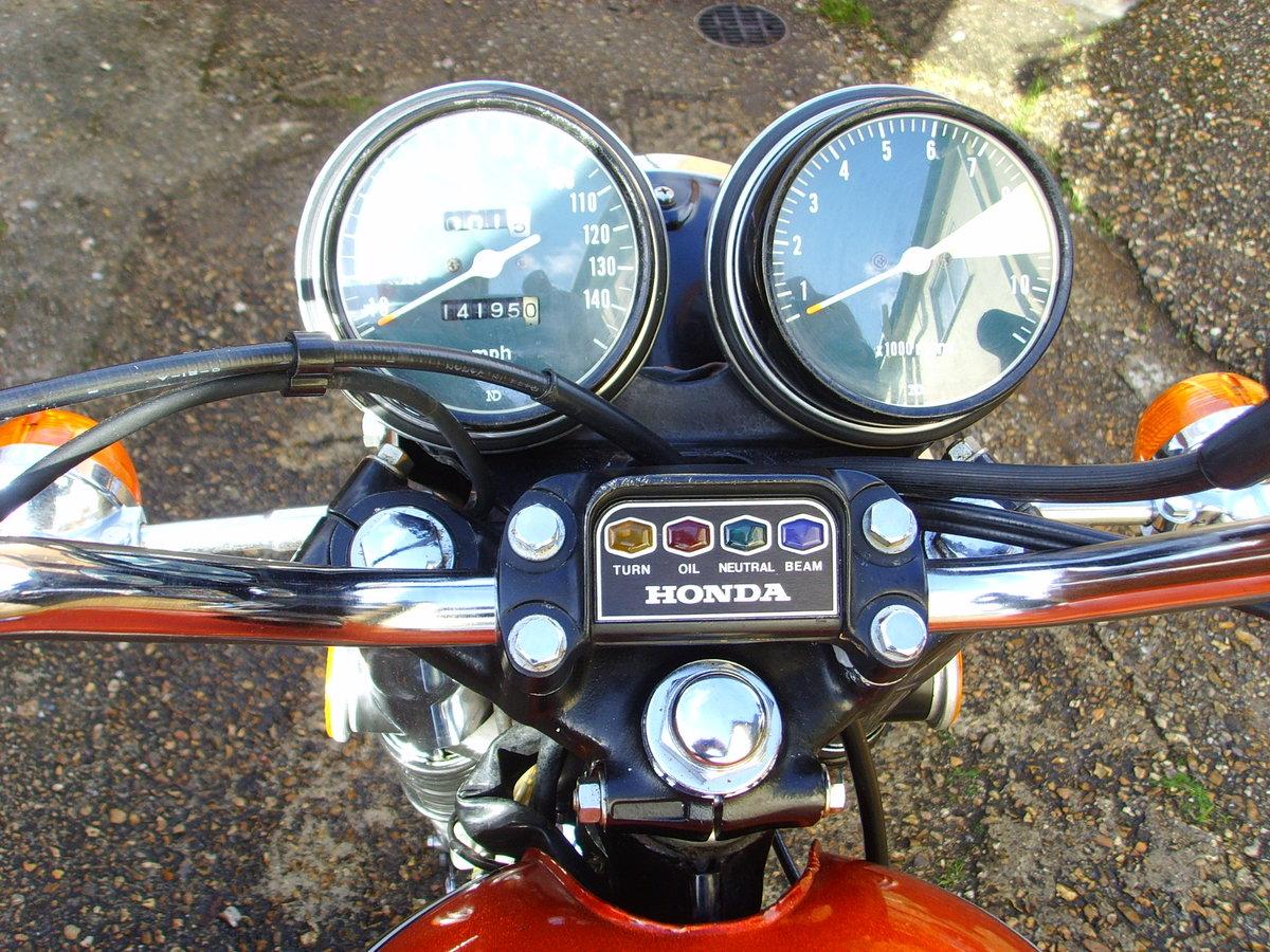 Honda CB750k4 1974 Beautiful original condition Classic bike For Sale (picture 4 of 6)