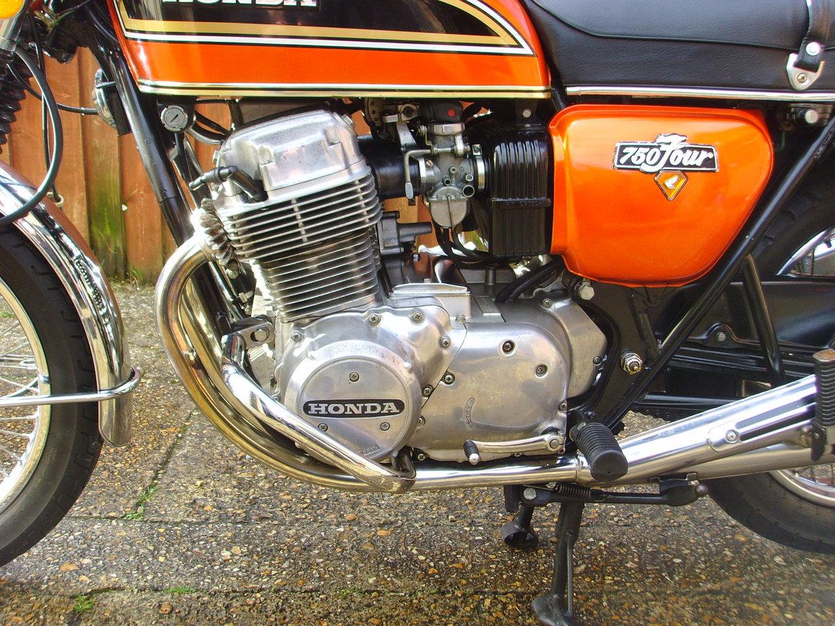 Honda CB750k4 1974 Beautiful original condition Classic bike For Sale (picture 5 of 6)