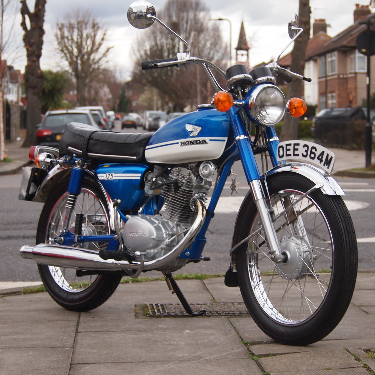 1973 Honda CB125 S UK Bike, RESERVED FOR JOE. SOLD (picture 1 of 6)