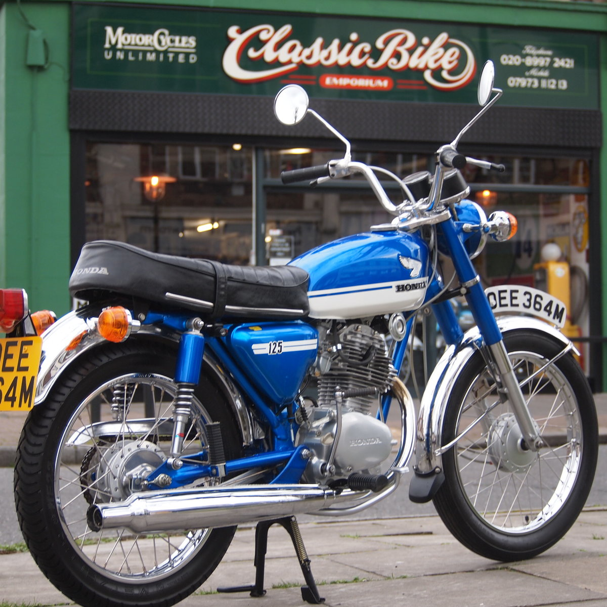 1973 Honda CB125 S UK Bike, RESERVED FOR JOE. SOLD (picture 6 of 6)