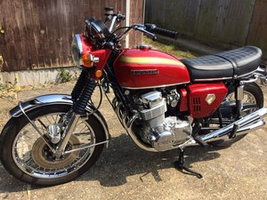 Honda CB750 K0 with only 6,344 Miles from new