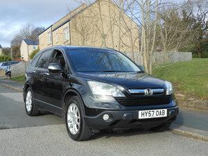 2007 Honda CR-V 2.2 CTD-i EX LTH + PANROOF +SAT/NAV + REV CA SOLD