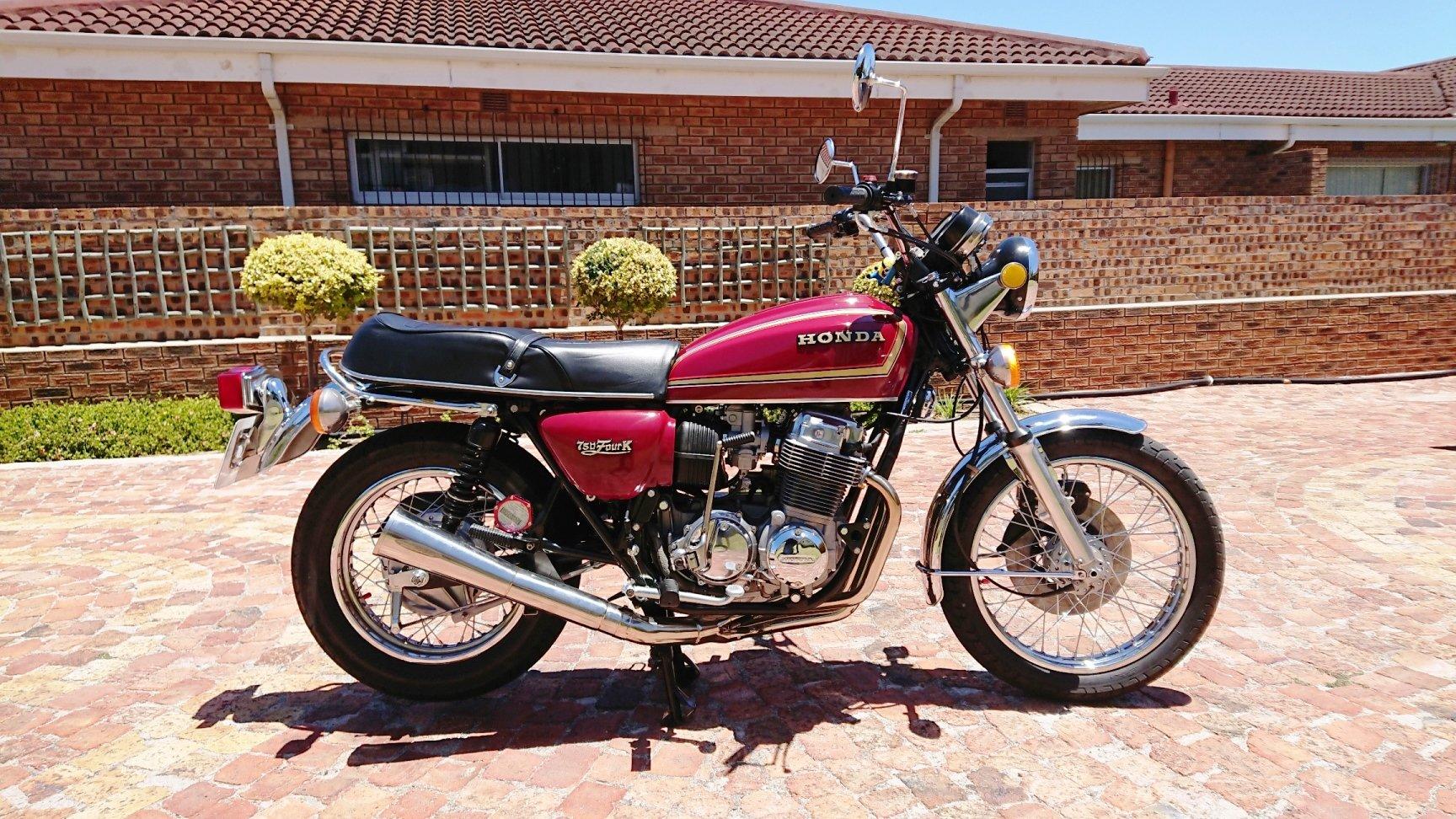 Honda CB750 K7 SOHC - Restored