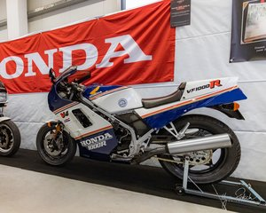 1986 Honda VF 1000 R Rothmans, restaurated, Museum Bike