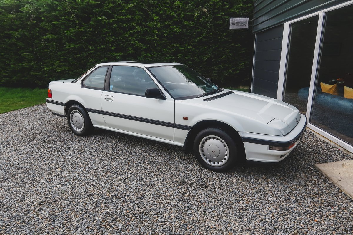 1988 Honda Prelude with 4-wheel Steering SOLD (picture 1 of 6)
