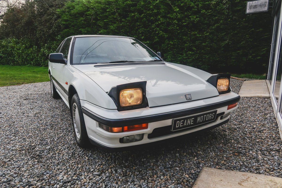 1988 Honda Prelude with 4-wheel Steering SOLD (picture 2 of 6)