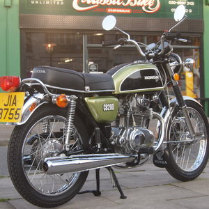 1976 Honda CB200 UK Bike, RESERVED FOR SHAUN. SOLD