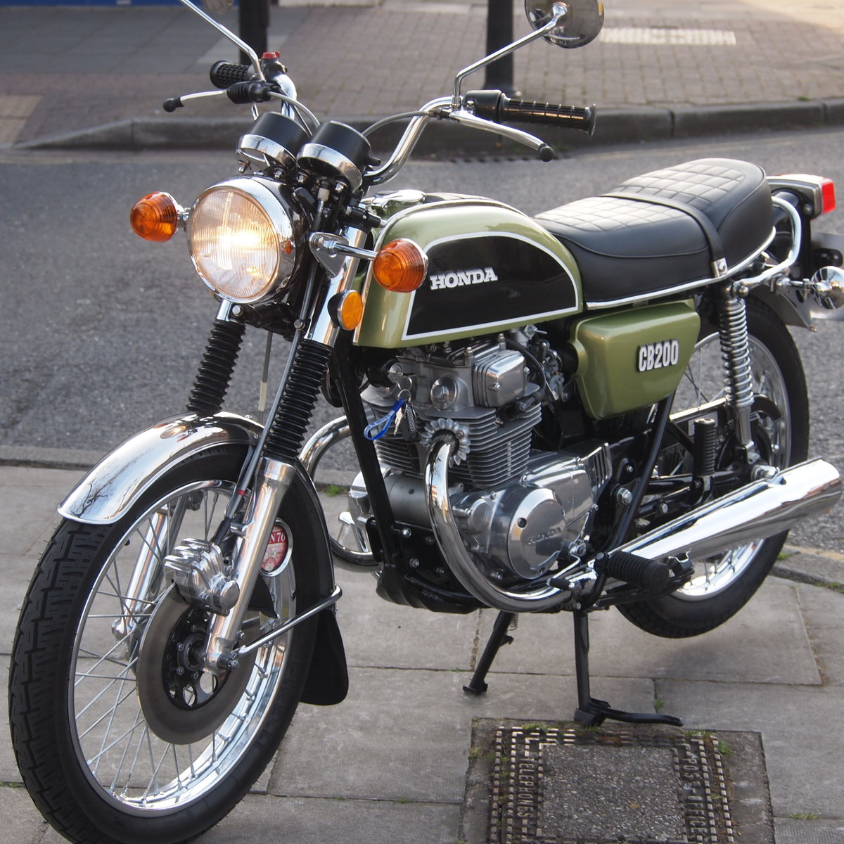 1976 Honda CB200 UK Bike, RESERVED FOR SHAUN. SOLD (picture 5 of 6)