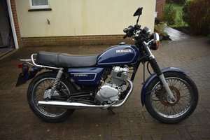 1990 Honda CD250U 06/05/20 SOLD by Auction
