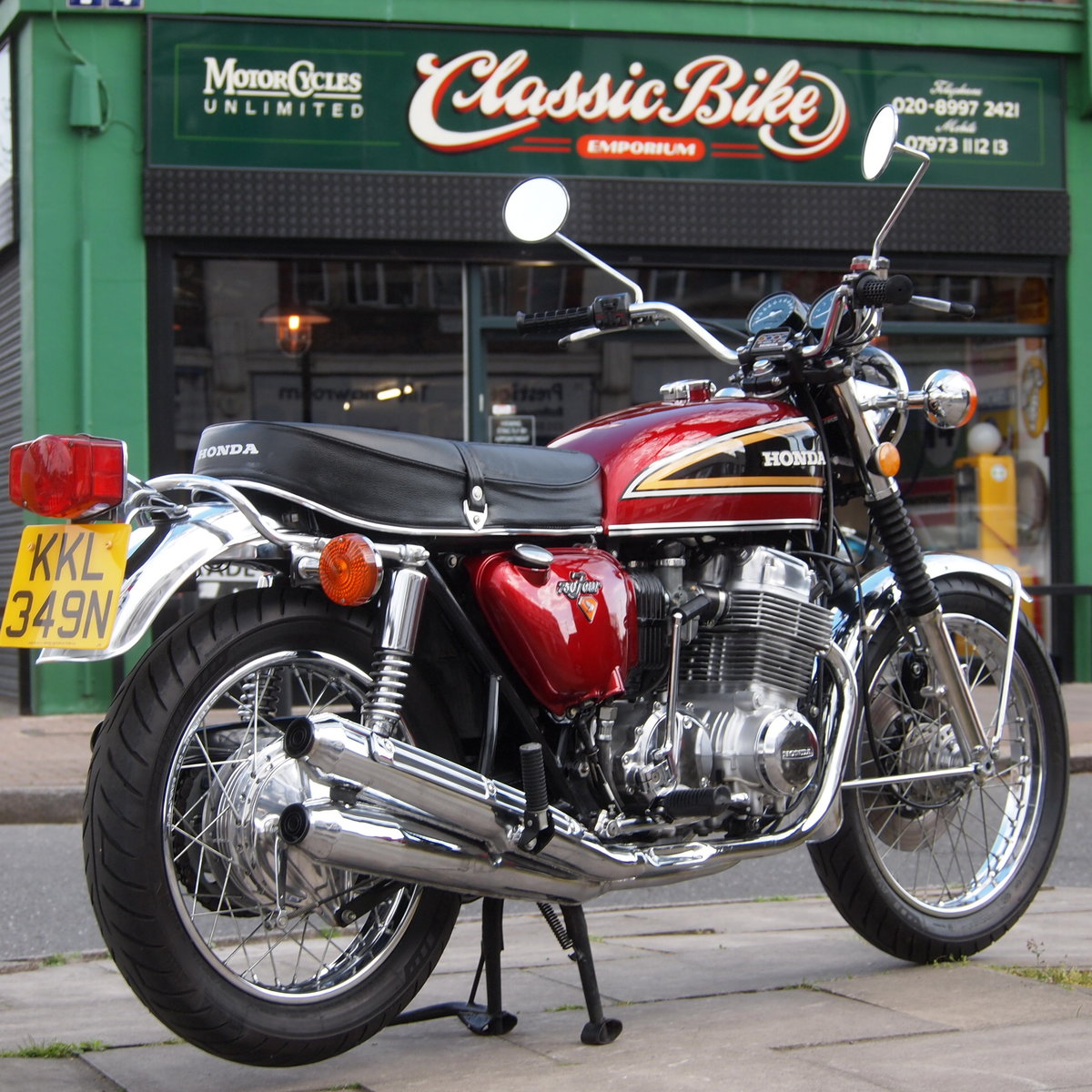 1975 Honda CB750 K5 SOHC, In Lovely Condition. SOLD (picture 1 of 6)
