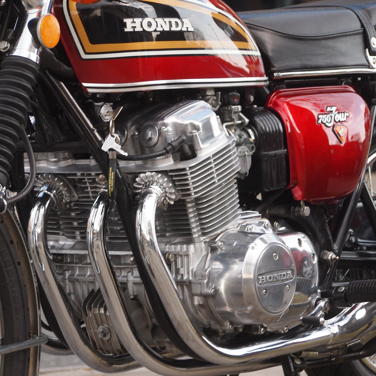 1975 Honda CB750 K5 SOHC, In Lovely Condition. SOLD (picture 2 of 6)