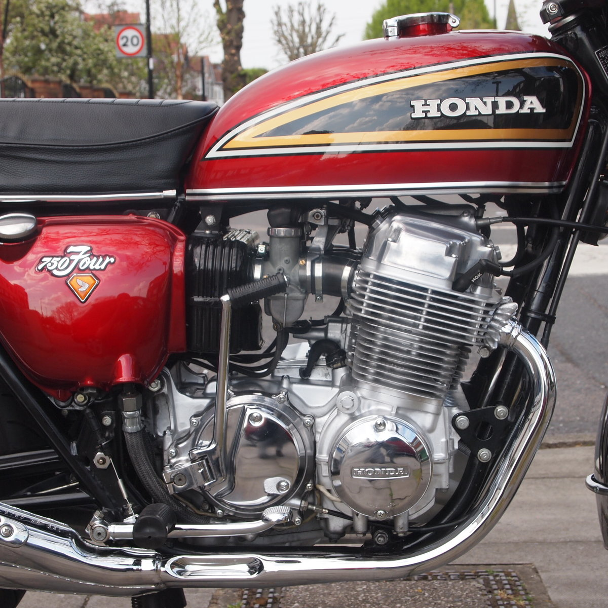 1975 Honda CB750 K5 SOHC, In Lovely Condition. SOLD (picture 3 of 6)