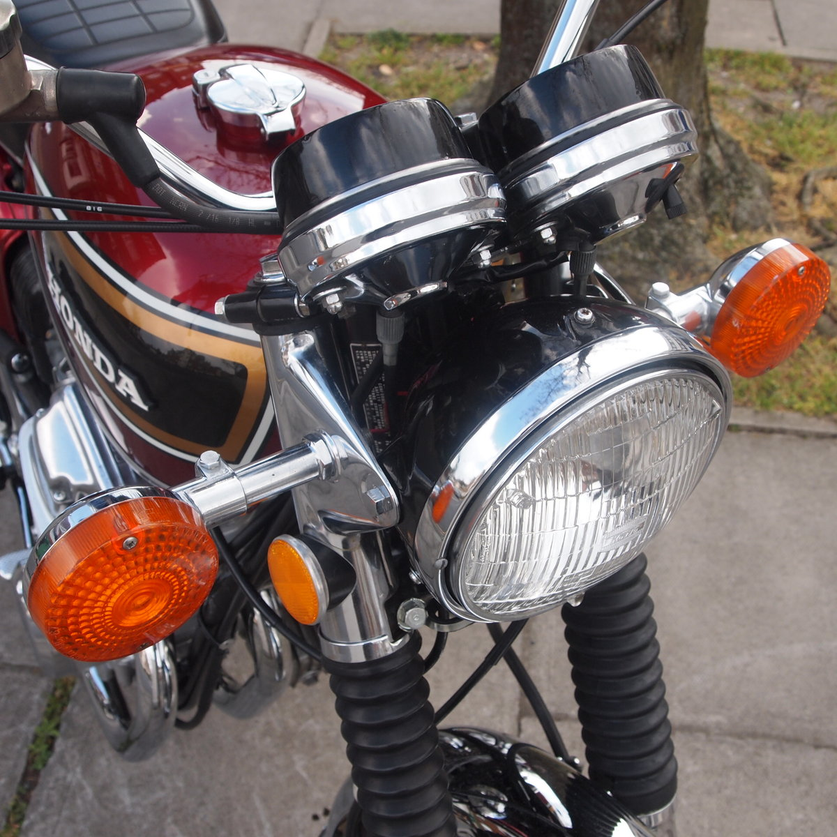 1975 Honda CB750 K5 SOHC, In Lovely Condition. SOLD (picture 4 of 6)