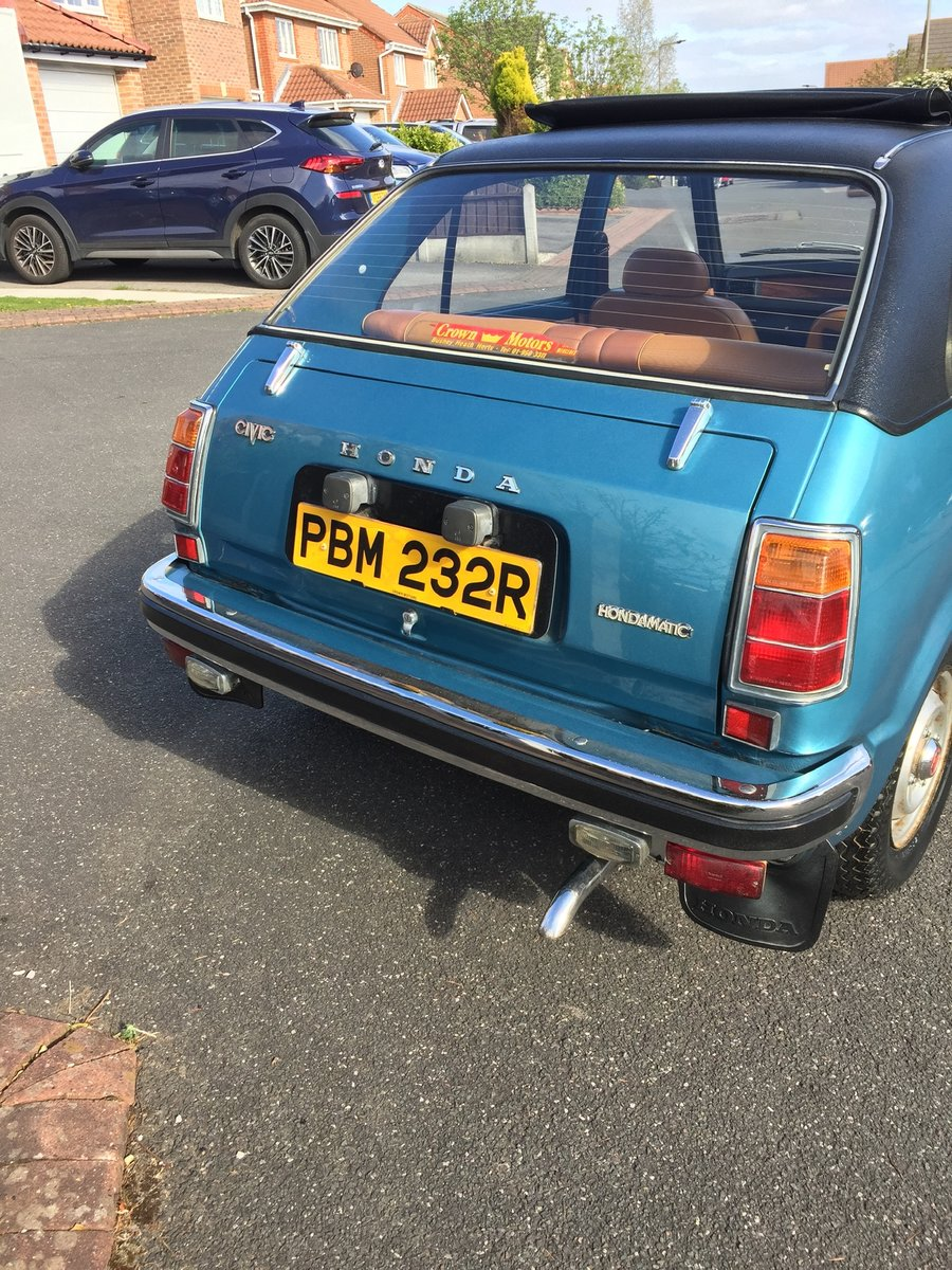 1976 Honda Civic mk1 For Sale (picture 3 of 6)