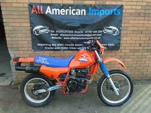 HONDA XL600R ENDURO ROAD LEGAL STYLE MOTOX (1985) SOLD