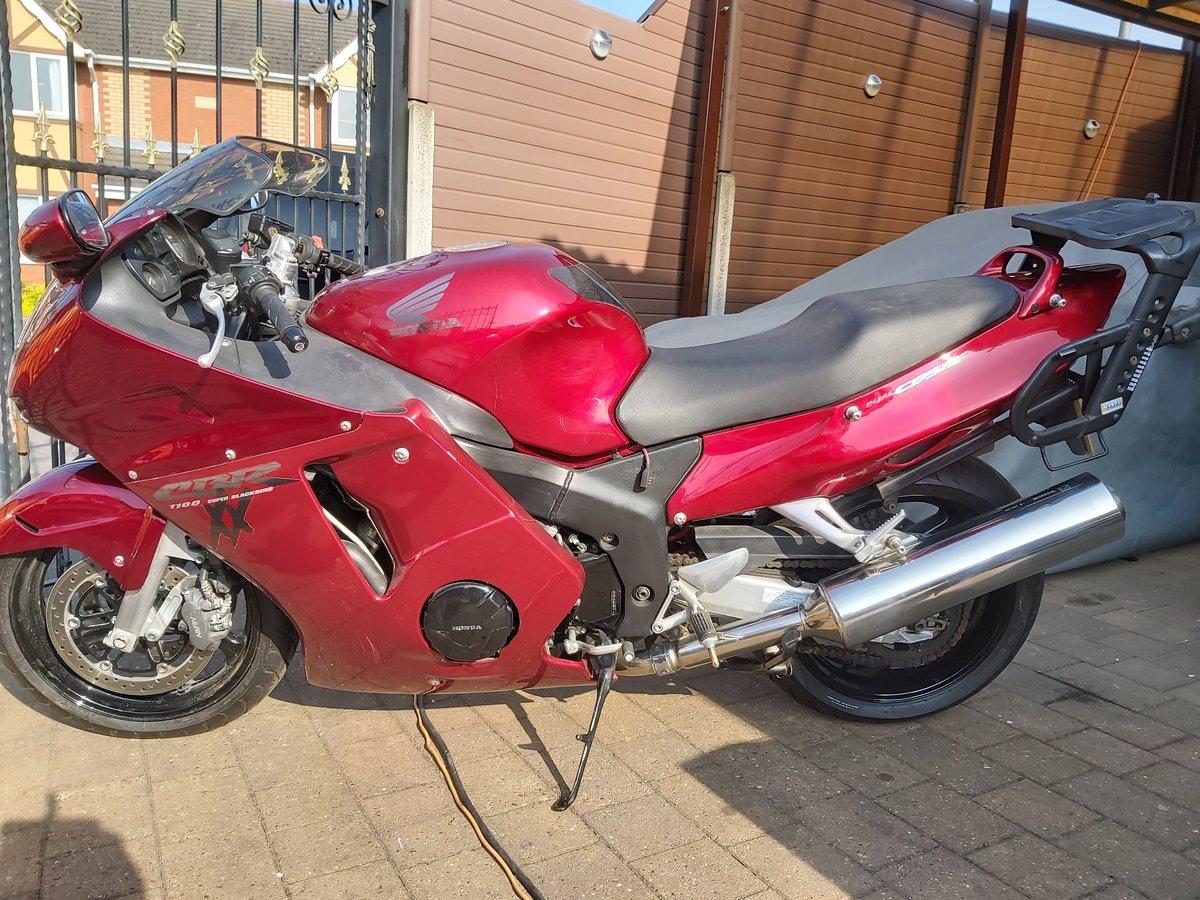1998 Honda cbr1100xx super blackbird For Sale (picture 5 of 6)