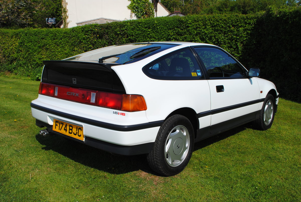 1988 Honda Civic 1.6 CRX 3dr For Sale (picture 2 of 6)