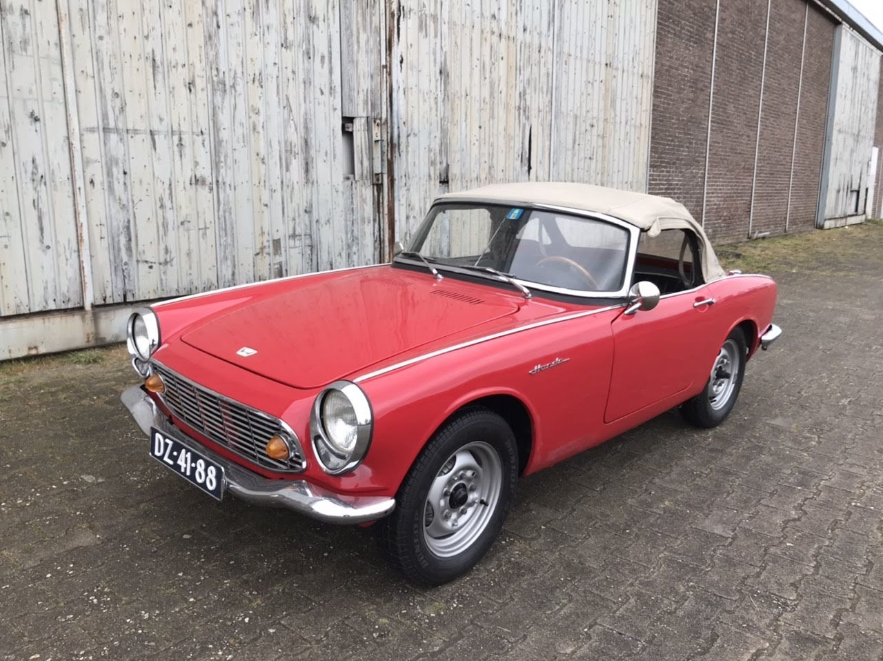 1966 Honda S600 roadster. Very nice, rustfree  For Sale (picture 1 of 6)