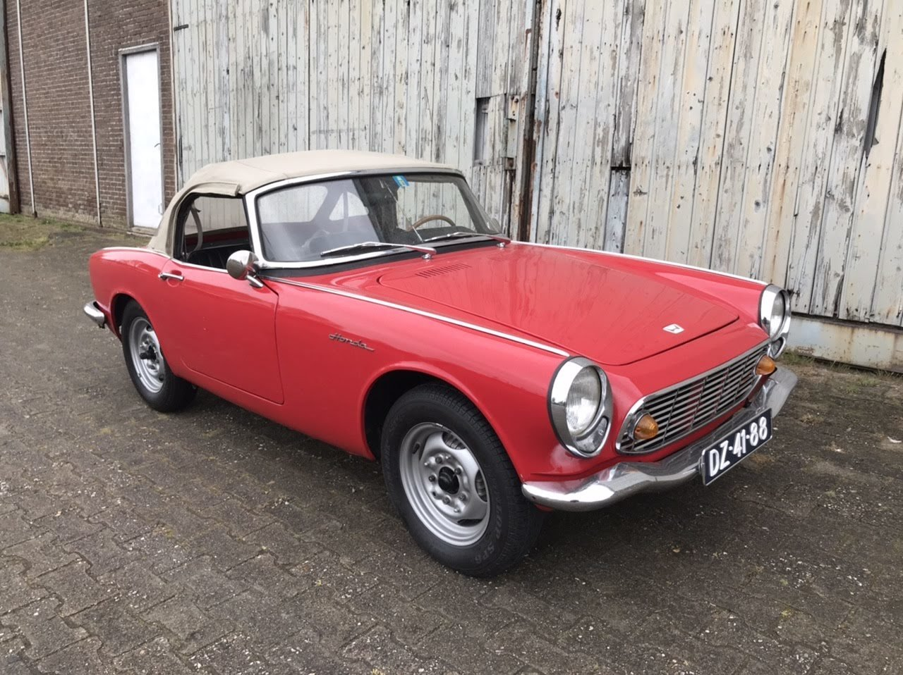 1966 Honda S600 roadster. Very nice, rustfree  For Sale (picture 2 of 6)