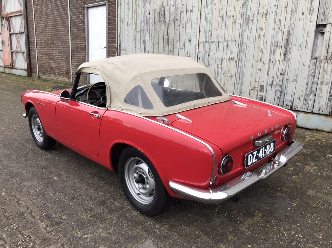 1966 Honda S600 roadster. Very nice, rustfree  For Sale (picture 3 of 6)