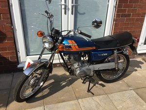 1979 Honda CG 125 For Sale by Auction