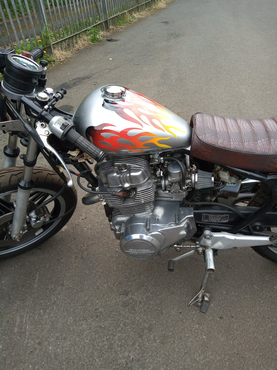 1981 Cafe racer, honda CB250N superdream. For Sale (picture 2 of 6)
