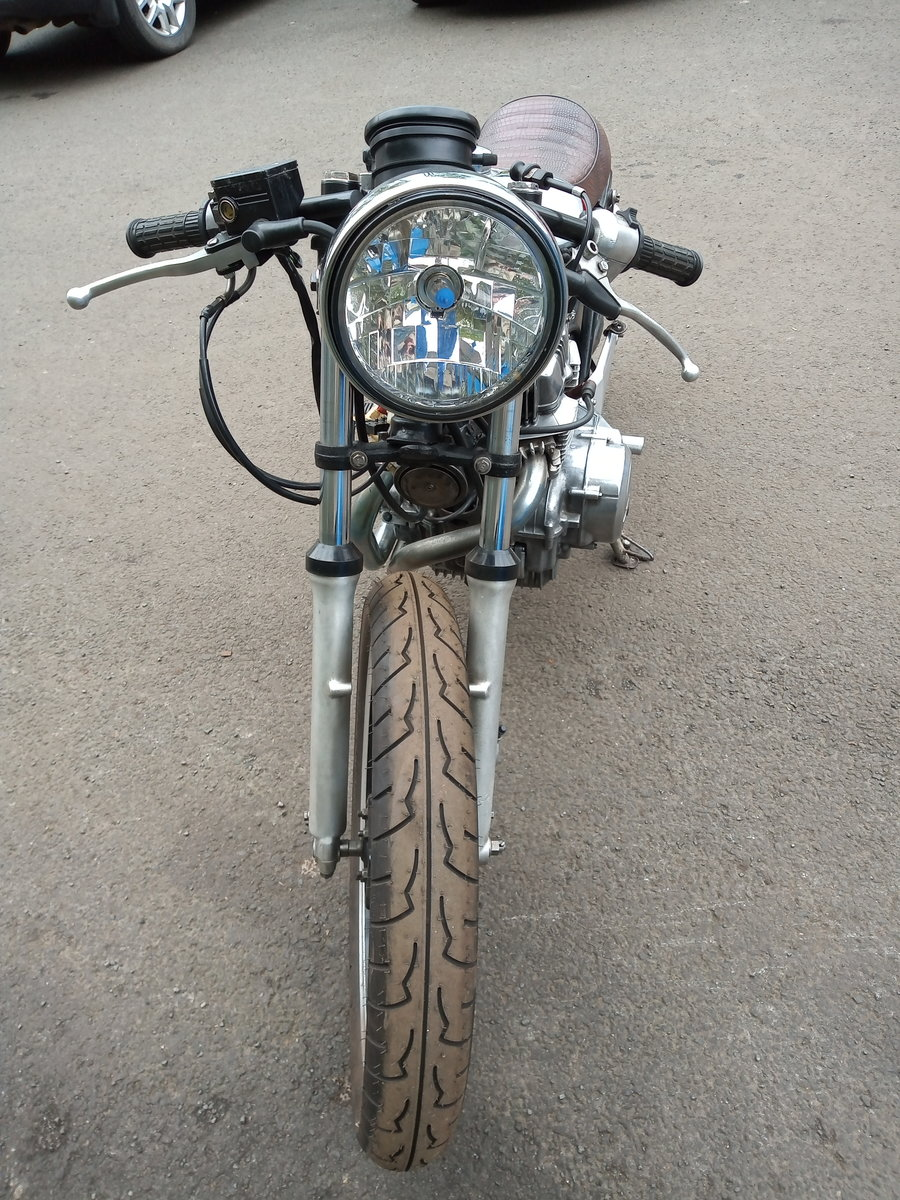 1981 Cafe racer, honda CB250N superdream. For Sale (picture 5 of 6)