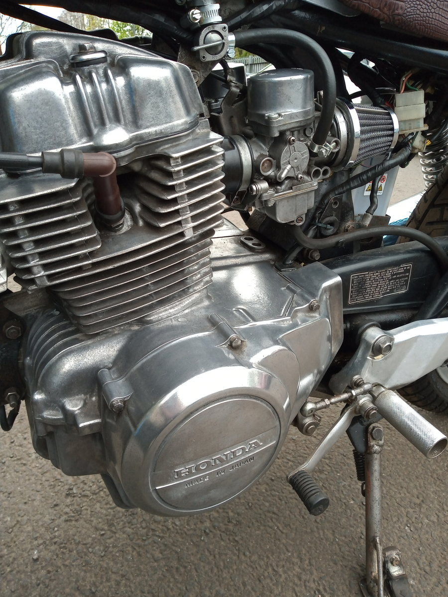1981 Cafe racer, honda CB250N superdream. For Sale (picture 6 of 6)