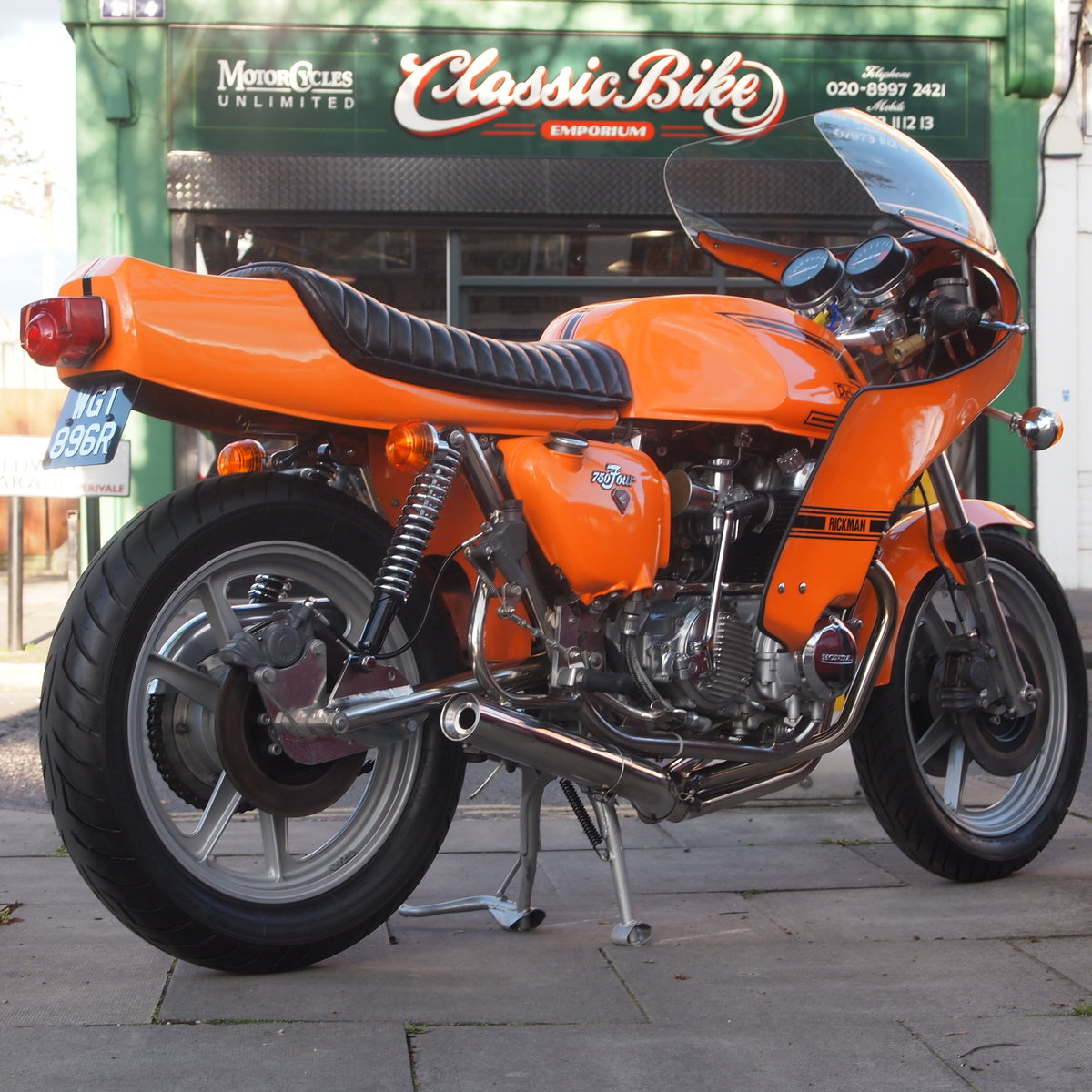 1976 Rickman CR750 Factory Built In January 1977 For Sale (picture 1 of 6)