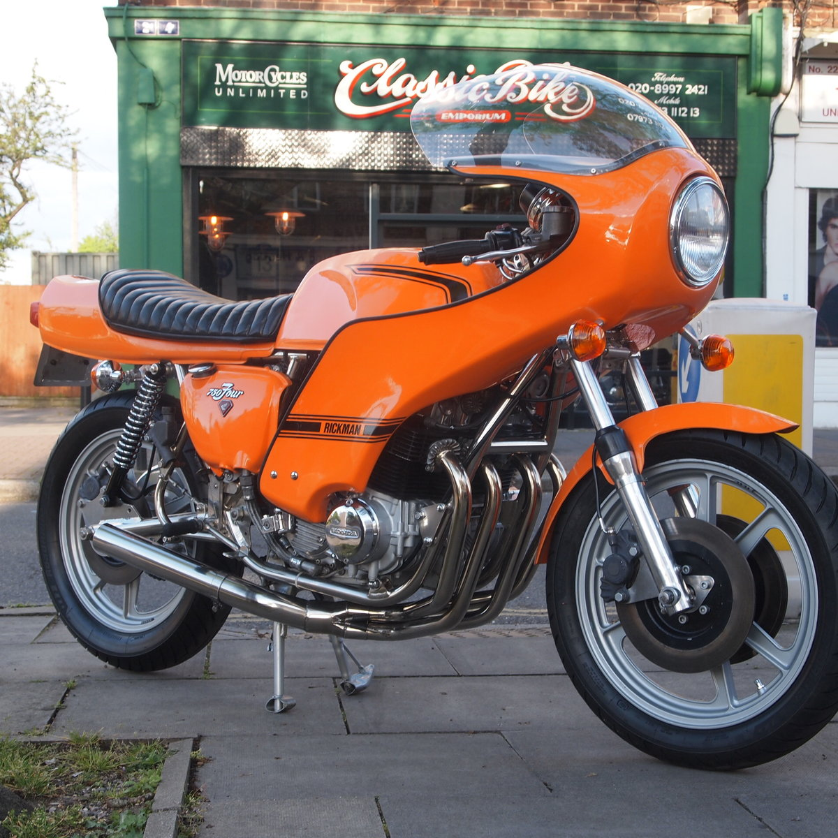 1976 Rickman CR750 Factory Built In January 1977 For Sale (picture 4 of 6)