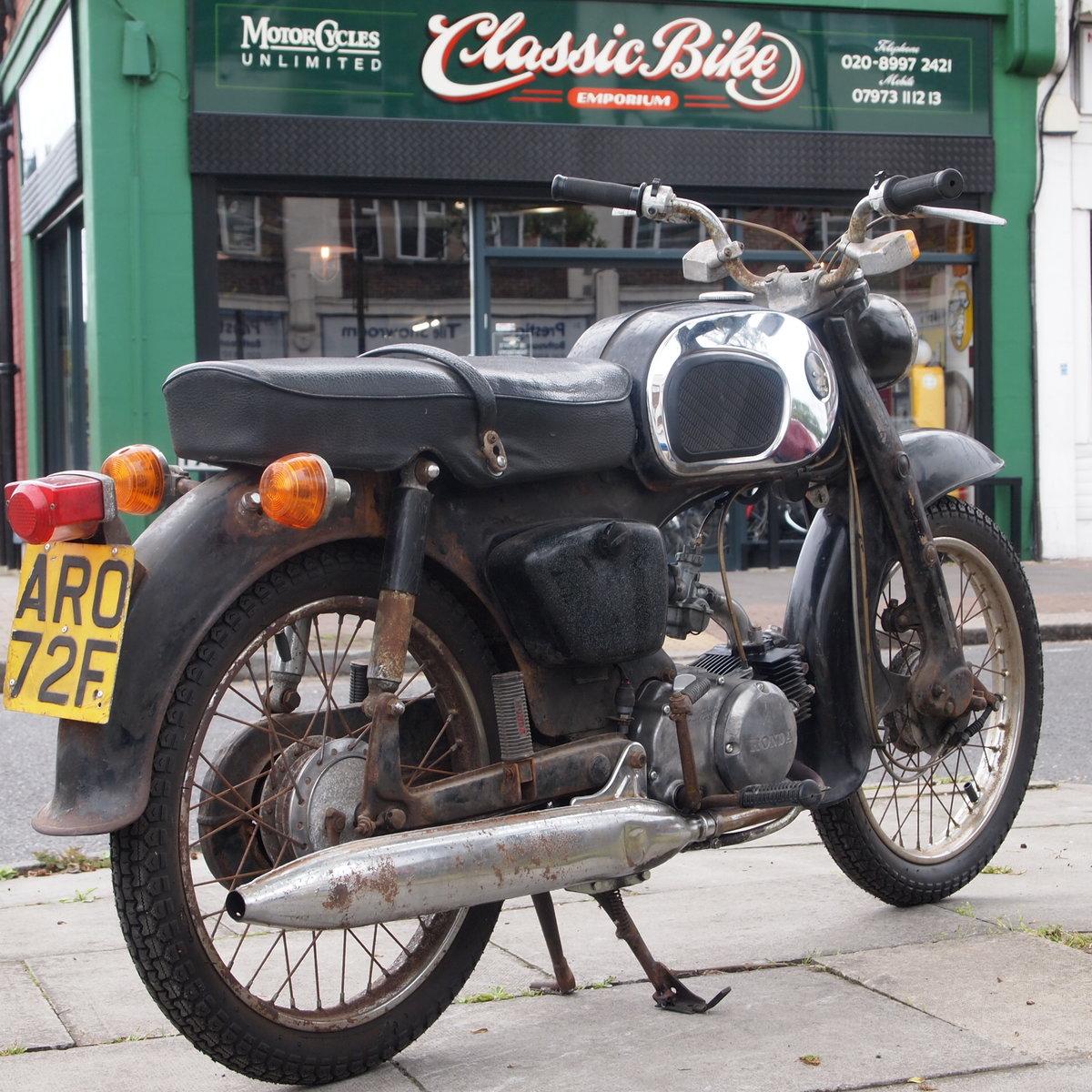 1967 Honda C200 Original Running UK Bike, RESERVED FOR ALAN. SOLD (picture 1 of 6)